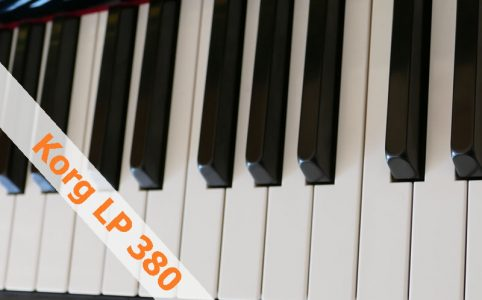 Korg LP 380 Digitalpiano Review - e-piano-kaufen